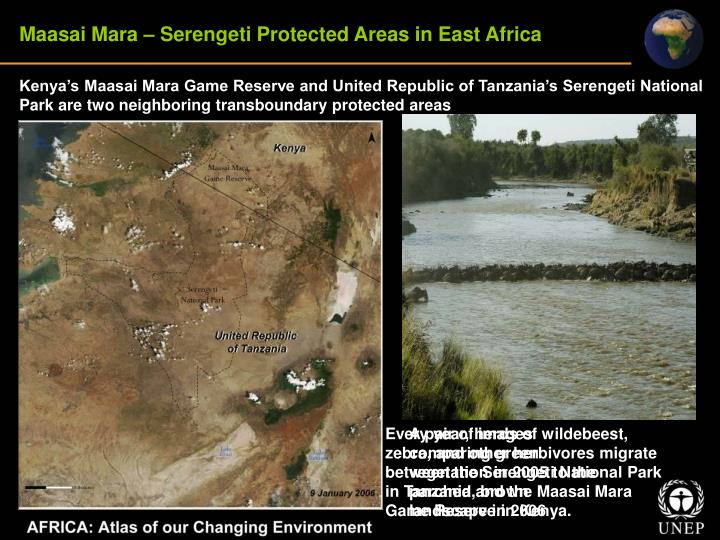 Maasai Mara – Serengeti Protected Areas in East Africa