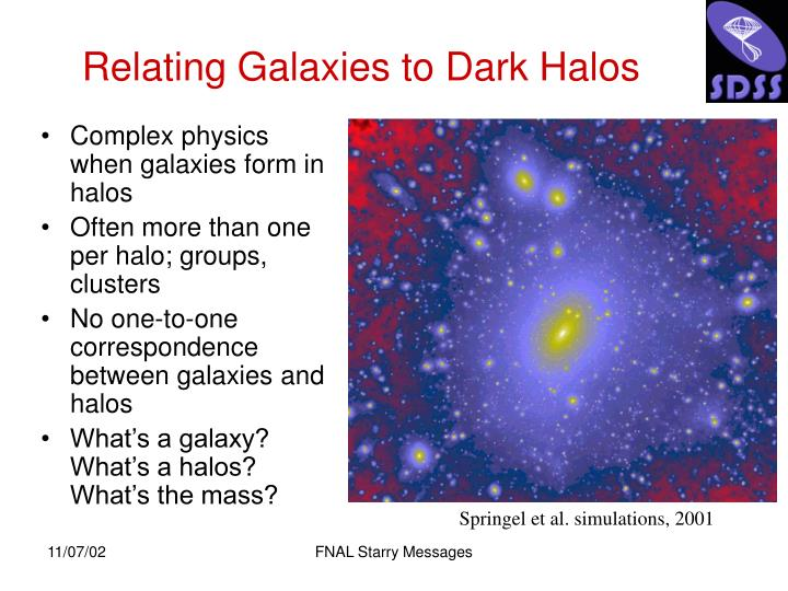 Complex physics when galaxies form in halos