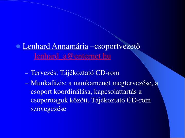 Lenhard Annamária