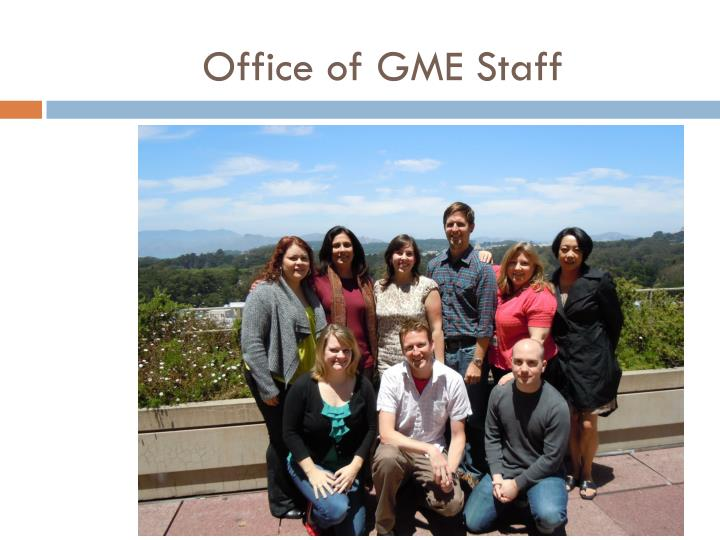 Office of gme staff