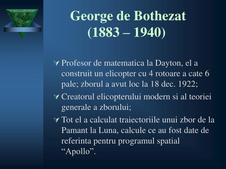 George de Bothezat