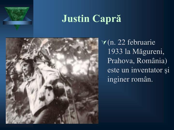 Justin Capră