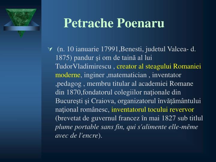 Petrache Poenaru
