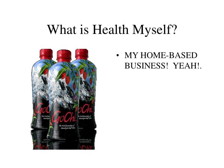 What is Health Myself?