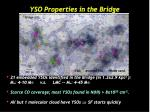 yso properties in the bridge