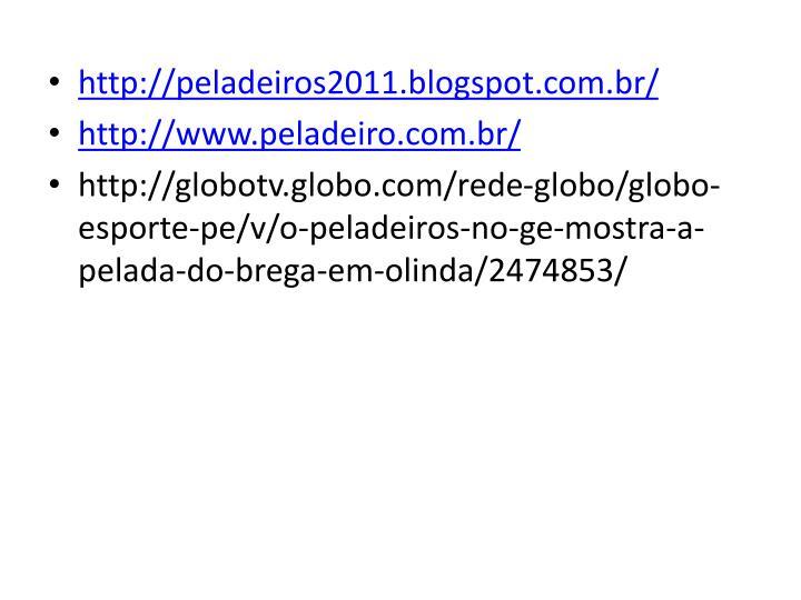 http://peladeiros2011.blogspot.com.br/