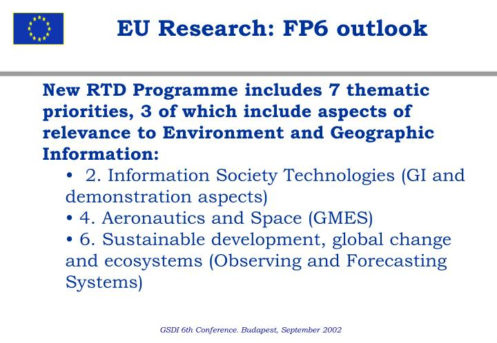 EU Research: