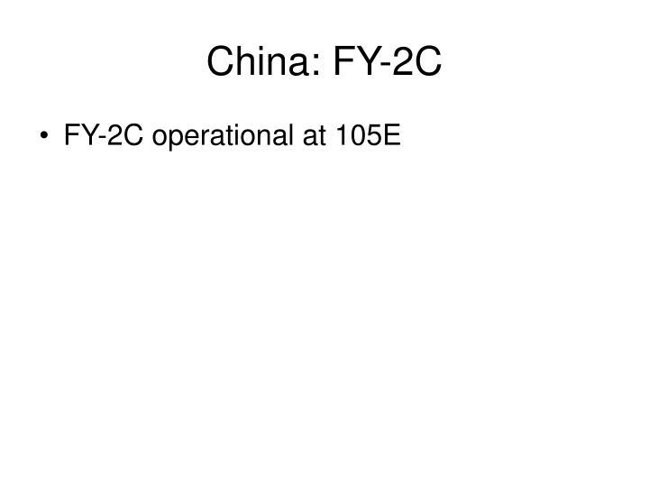 China: FY-2C