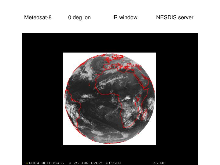 Meteosat-80 deg lonIR windowNESDIS server
