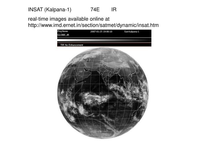 INSAT (Kalpana-1) 74E IR