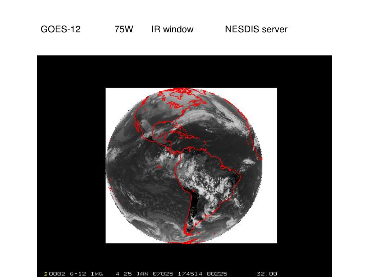GOES-1275WIR windowNESDIS server