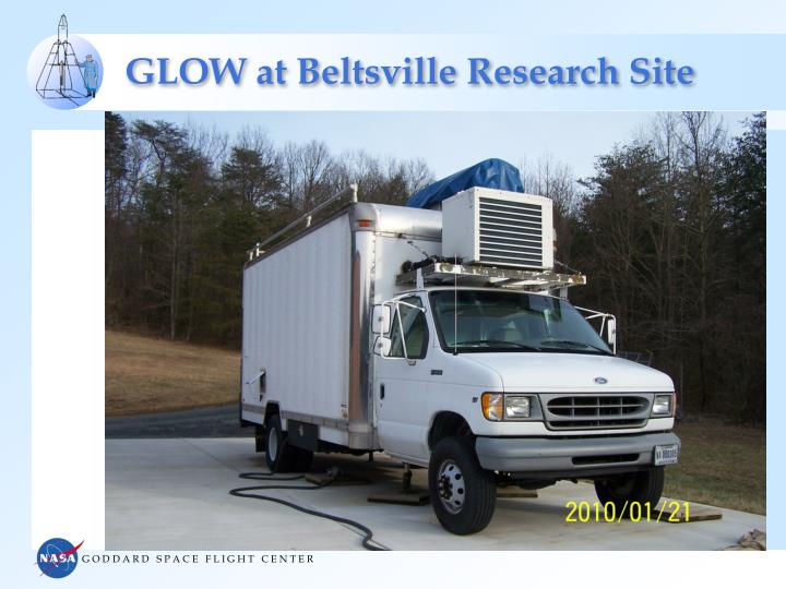 GLOW at Beltsville Research Site