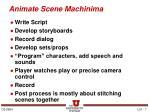 animate scene machinima