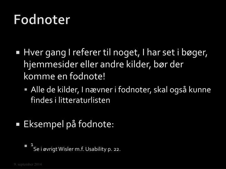 Fodnoter