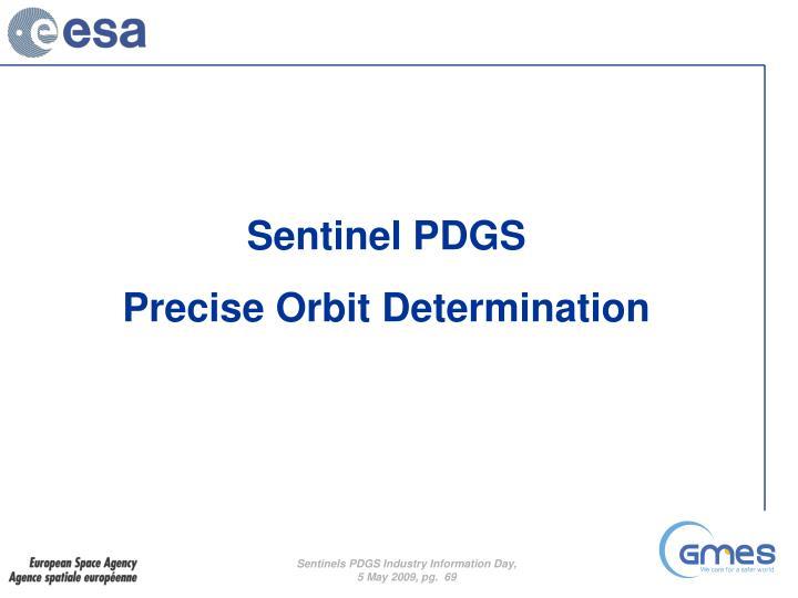 Sentinel PDGS