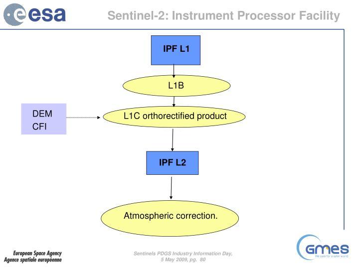 Sentinel-2: Instrument Processor Facility