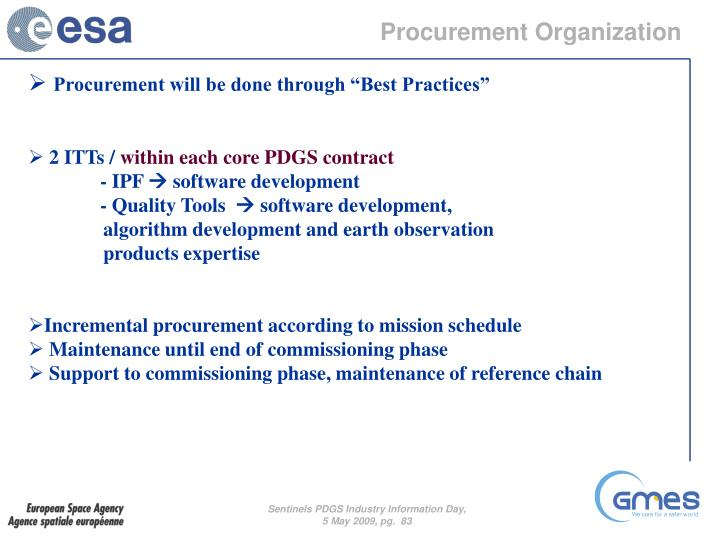 Procurement Organization
