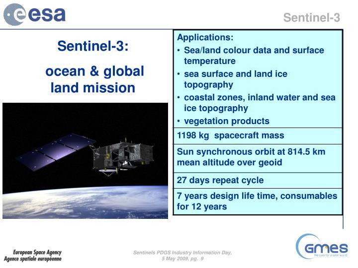 Sentinel-3