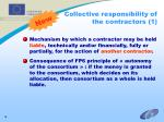 collective responsibility of the contractors 1