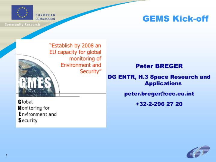 Gems kick off