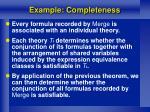 example completeness1
