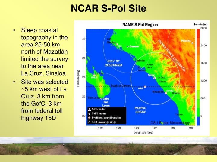 NCAR S-Pol Site