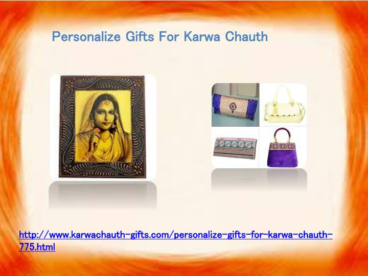 Personalize Gifts For