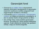 garancijski fond