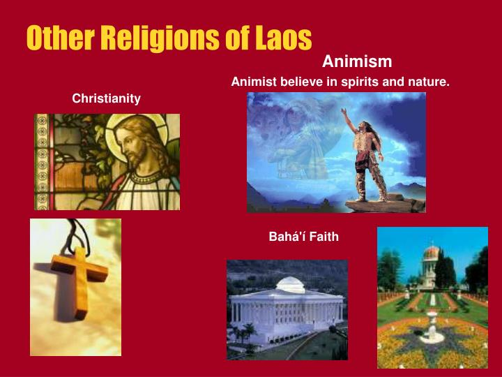 Other Religions of Laos