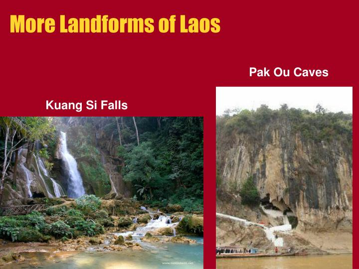 More Landforms of Laos