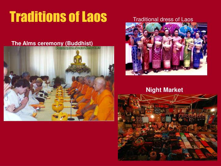 Traditions of Laos