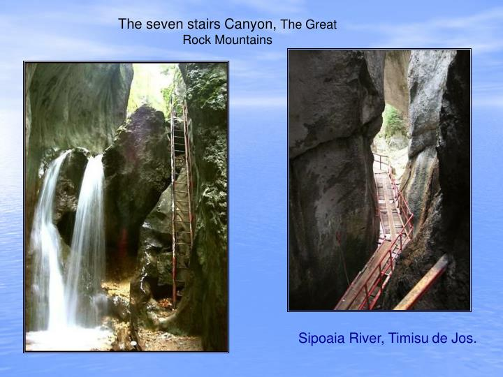 The seven stairs Canyon,