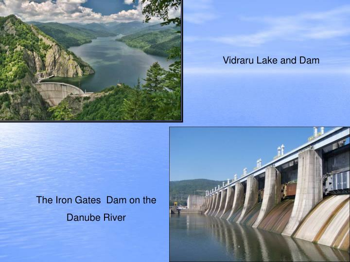 Vidraru Lake and Dam