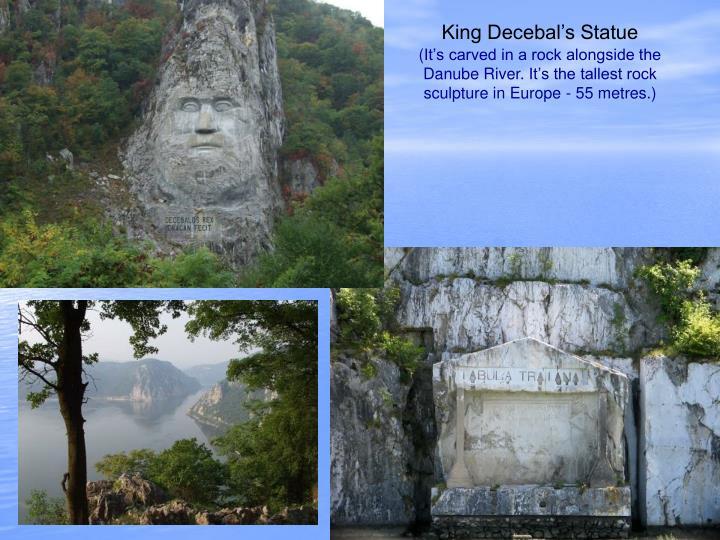 King Decebal's Statue
