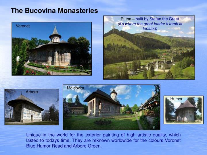 The Bucovina Monasteries