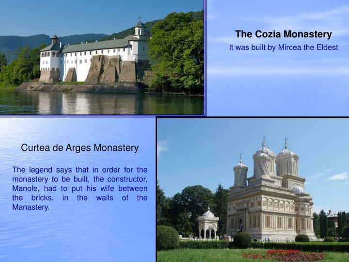The Cozia Monastery