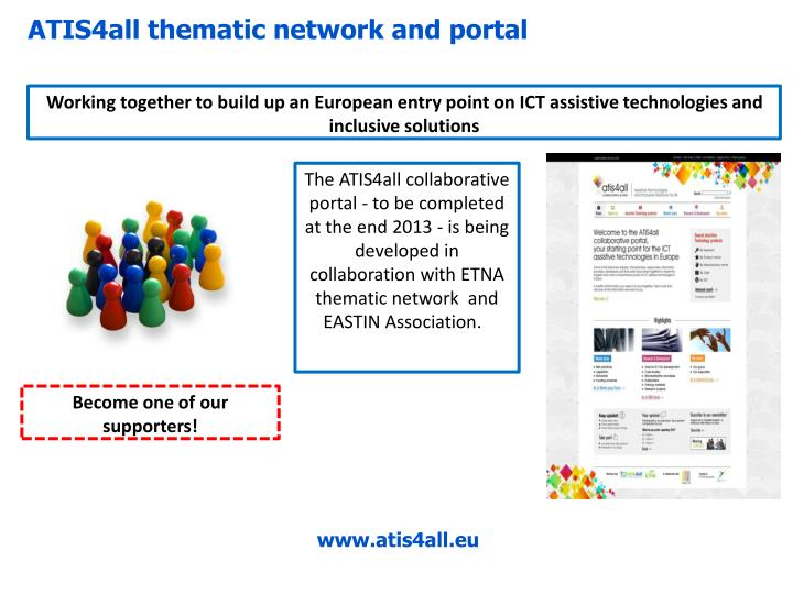 ATIS4all thematic network and portal