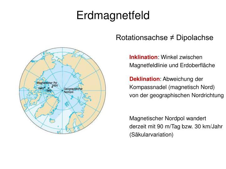 Erdmagnetfeld