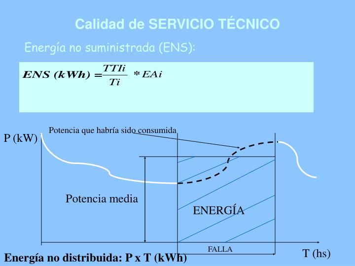 Calidad de SERVICIO TÉCNICO