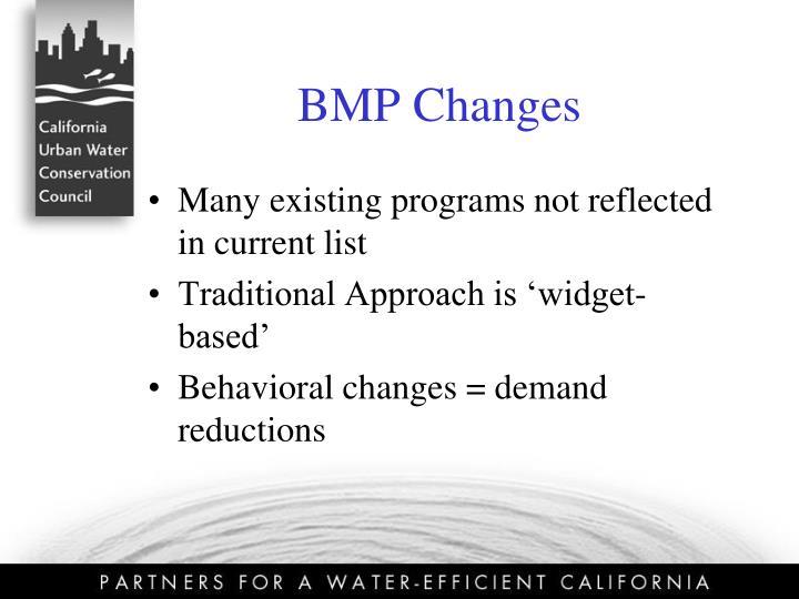BMP Changes