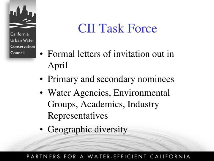 CII Task Force