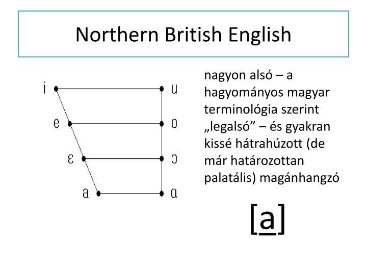 Northern British English