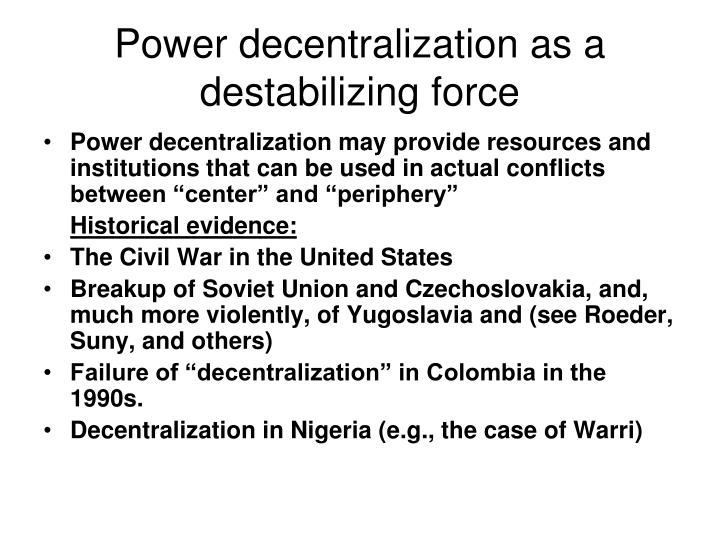 defining canadian federalism and relative decentralization politics essay 1 introduction to comparative politics federalism and decentralization kimuli kasara columbia  lecture outline defining federalism  papers, and .