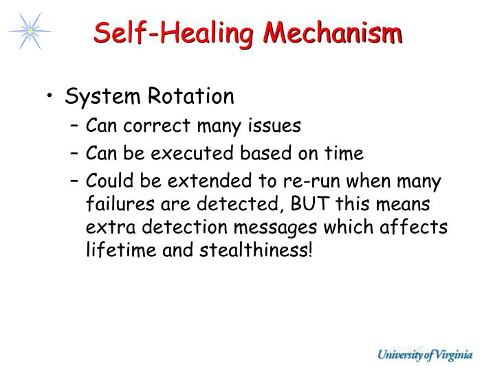 Self-Healing Mechanism