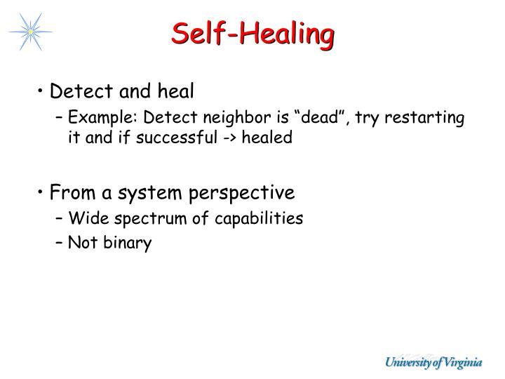 Self-Healing