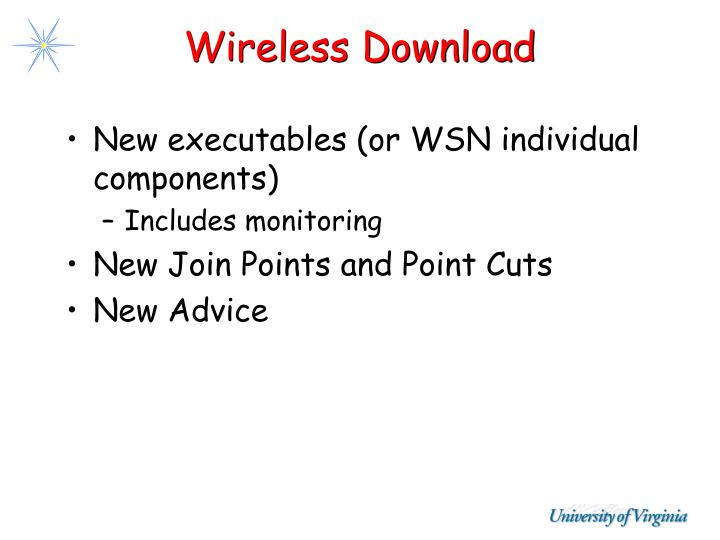 Wireless Download