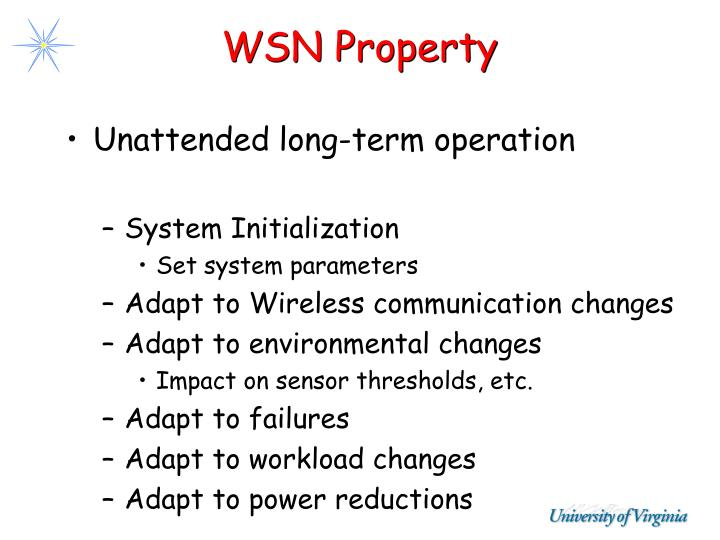 WSN Property