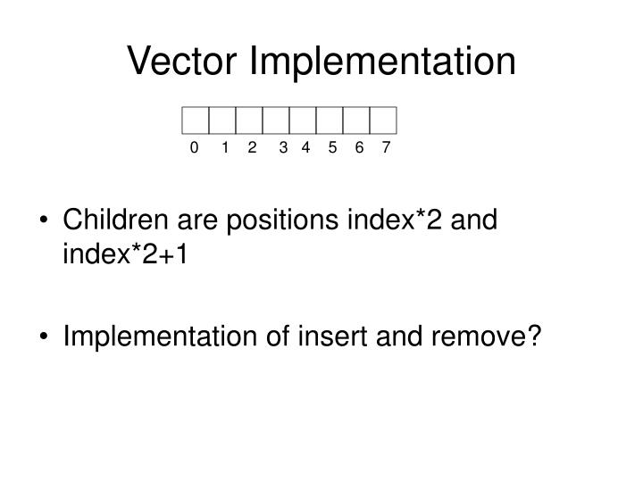 Vector Implementation