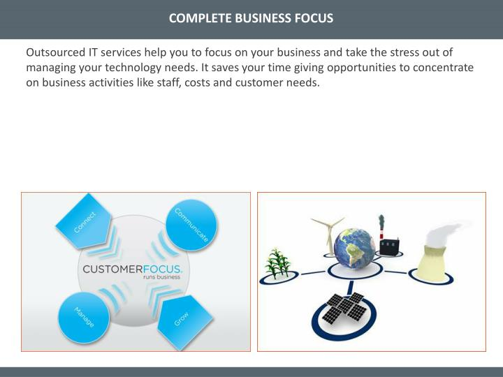 COMPLETE BUSINESS FOCUS