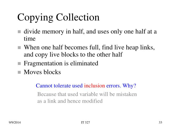 Copying Collection